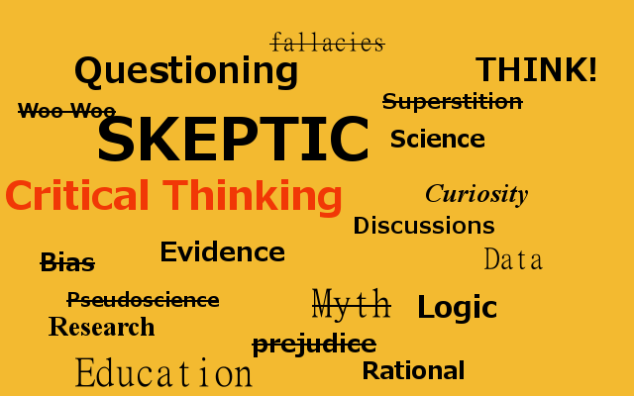 Skeptic Word Cloud