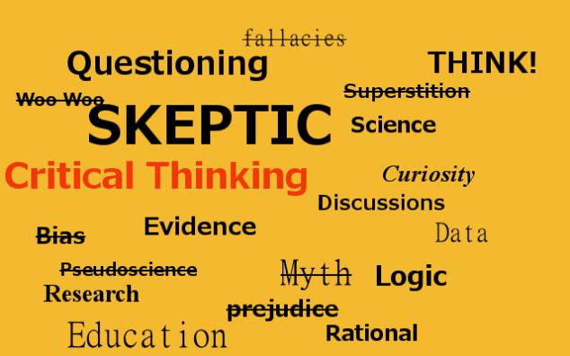 Skeptic Word Cloud